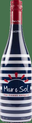 4,95 € Envío gratis | Sangría Sort del Castell Mar & Sol España Botella 75 cl