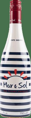 4,95 € Envío gratis | Sangría Sort del Castell Mar & Sol Clarea España Botella 75 cl