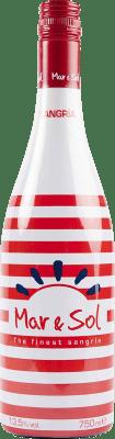 5,95 € Envío gratis | Sangría Sort del Castell Mar & Sol Zurra España Botella 75 cl