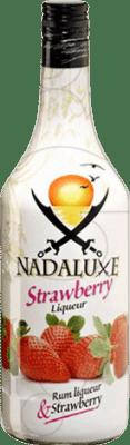 11,95 € Envoi gratuit | Liqueurs Antonio Nadal Nadaluxe Strawberry Espagne Bouteille Missile 1 L
