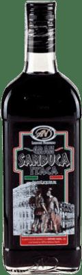 9,95 € Envío gratis | Anisado Antonio Nadal Sambuca Itaca Black España Botella 70 cl