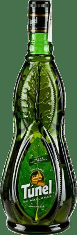 13,95 € Envío gratis | Digestivo Antonio Nadal Tunel Hierbas Secas España Botella Misil 1 L