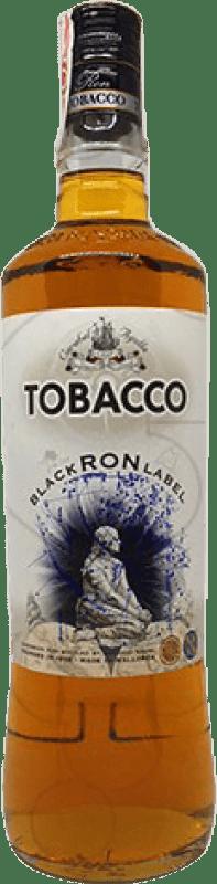 11,95 € Envío gratis | Ron Antonio Nadal Tobacco Black Añejo España Botella Misil 1 L