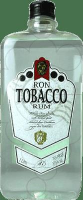 9,95 € Envío gratis | Ron Antonio Nadal Tobacco Blanco España Petaca 1 L