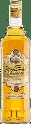12,95 € Free Shipping | Whisky Blended Antonio Nadal Highlander United Kingdom Missile Bottle 1 L