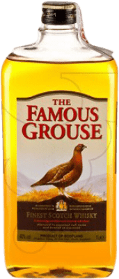 17,95 € Free Shipping | Whisky Blended Glenturret Famous Grouse United Kingdom Petaca 1 L