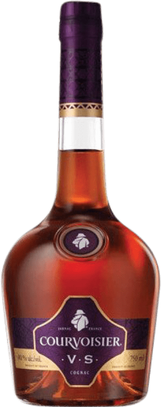 24,95 € Free Shipping | Cognac Courvoisier V.S. Very Special France Missile Bottle 1 L