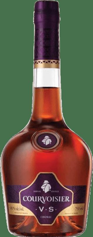 24,95 € Envío gratis | Coñac Courvoisier V.S. Very Special Francia Botella Misil 1 L