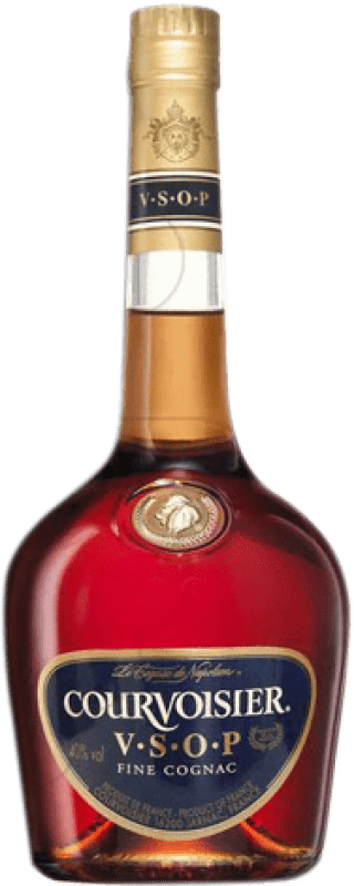 32,95 € Free Shipping | Cognac Courvoisier V.S.O.P. Very Superior Old Pale France Missile Bottle 1 L