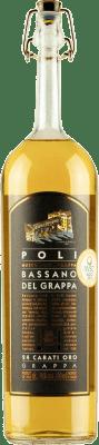 24,95 € Free Shipping | Grappa Poli Bassano 24 Carati Oro Italy Bottle 70 cl