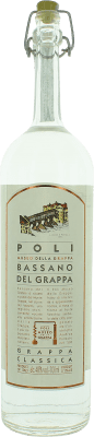 23,95 € Envío gratis | Grappa Poli Bassano Classica Italia Botella 70 cl