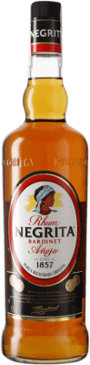 13,95 € Free Shipping | Rum Bardinet Negrita Añejo Spain Missile Bottle 1 L