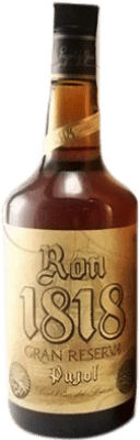 25,95 € Free Shipping | Rum Bardinet Pujol 1818 Extra Añejo Reserva Spain Bottle 70 cl