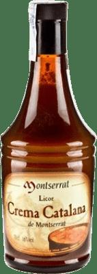 9,95 € Envío gratis | Crema de Licor Anís del Mono Crema Catalana Montserrat España Botella 70 cl