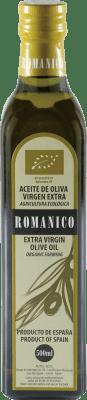 5,95 € Envío gratis | Aceite Actel Románico Ecológico España Media Botella 50 cl