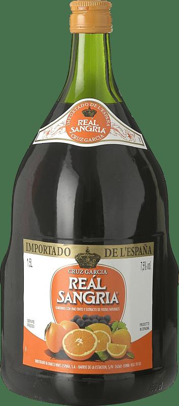 5,95 € Kostenloser Versand | Wein Sangria Age Real Asa Spanien Magnum-Flasche 1,5 L