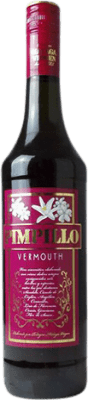 11,95 € Free Shipping | Vermouth Málaga Virgen Pimpillo Rojo Spain Bottle 75 cl