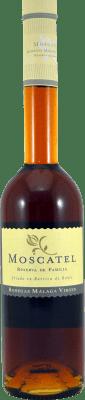 11,95 € Free Shipping | Fortified wine Málaga Virgen Reserva de la Familia Reserva D.O. Sierras de Málaga Andalucía y Extremadura Spain Muscatel Half Bottle 50 cl