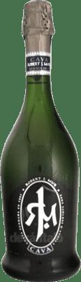 6,95 € Envoi gratuit | Blanc moussant Mur Robert J. Brut Reserva D.O. Cava Catalogne Espagne Macabeo, Xarel·lo, Parellada Bouteille 75 cl | Des milliers d'amateurs de vin nous font confiance avec la garantie du meilleur prix, une livraison toujours gratuite et des achats et retours sans complications.