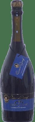 9,95 € Free Shipping | Red sparkling Dei Giorgi Letizia 5 Lune Rosso Sweet D.O.C. Lambrusco di Sorbara Italy Lambrusco Bottle 75 cl