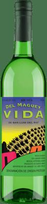 39,95 € Kostenloser Versand | Mezcal Maguey Vida Espadín Mexiko Flasche 70 cl