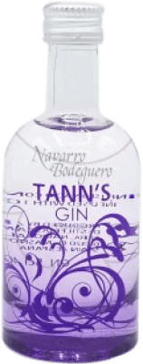 3,95 € Free Shipping | Gin Campeny Tann's Gin Spain Small Bottle 4 cl