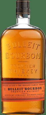 22,95 € Envío gratis | Bourbon Bulleit Distillery Estados Unidos Botella 70 cl