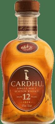 43,95 € Free Shipping | Whisky Single Malt Cardhu United Kingdom Missile Bottle 1 L