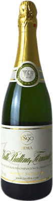 11,95 € Free Shipping | Cider El Gaitero Valle Ballina Brut Nature Spain Bottle 75 cl