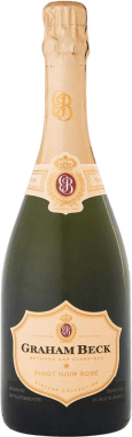 38,95 € Envío gratis | Espumoso rosado Graham Beck Brut Gran Reserva 2011 Sudáfrica Pinot Negro, Chardonnay Botella 75 cl