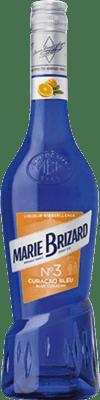 8,95 € Envío gratis | Triple Seco Marie Brizard Curaçao Blue Francia Botella 70 cl