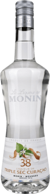 15,95 € Envío gratis | Triple Seco Monin Francia Botella 70 cl