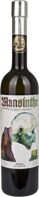 42,95 € Envío gratis | Absenta Mansinthe Alemania Botella 70 cl