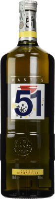 24,95 € Free Shipping | Pastis 51 France Magnum Bottle 1,5 L