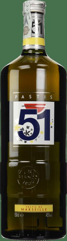 21,95 € Envío gratis   Pastis 51 Francia Botella Mágnum 1,5 L