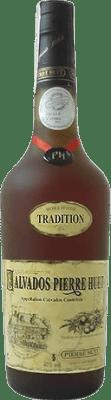 82,95 € Envío gratis | Calvados Pierre Huet Tradition Hors d'Age Francia Botella 70 cl