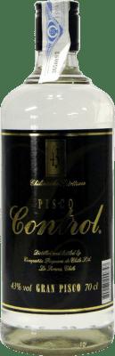 13,95 € Envío gratis | Pisco Control Chile Botella 70 cl