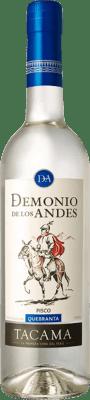 16,95 € Kostenloser Versand | Pisco Viña Tacama Demonio de los Andes Quebranta Peru Flasche 70 cl