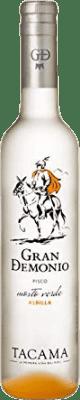 36,95 € Kostenloser Versand | Pisco Viña Tacama Gran Demonio Peru Halbe Flasche 50 cl