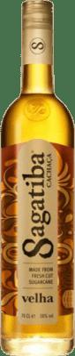 29,95 € Envío gratis | Cachaza Sagatiba Velha Brasil Botella 70 cl
