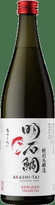 19,95 € Envío gratis | Sake Akashi-Tai Honjozo Japón Botella 70 cl