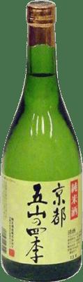 23,95 € Kostenloser Versand | Sake Kyotogozan Japan Flasche 72 cl