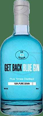 15,95 € Envoi gratuit | Gin Get Back Blue Espagne Bouteille 70 cl