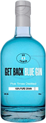 15,95 € Free Shipping | Gin Get Back Blue Spain Bottle 70 cl
