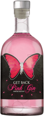 19,95 € Free Shipping | Gin Get Back Pink Spain Bottle 70 cl