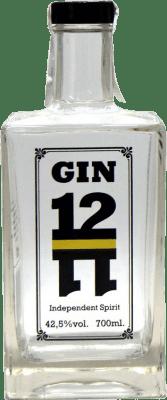 33,95 € Kostenloser Versand | Gin Gin 1211 Spanien Flasche 70 cl