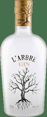 16,95 € Kostenloser Versand | Gin Gin l'arbre Spanien Flasche 70 cl