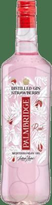 13,95 € Envoi gratuit | Gin Gin Palmbridge Strawberry Espagne Bouteille Missile 1 L