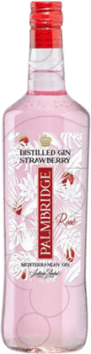 13,95 € Free Shipping | Gin Gin Palmbridge Strawberry Spain Missile Bottle 1 L