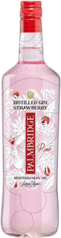 11,95 € Free Shipping | Gin Gin Palmbridge Strawberry Spain Missile Bottle 1 L